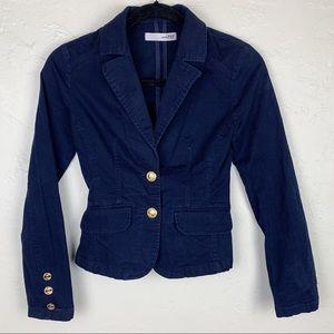 3 FOR $15! Zara Navy Gold Button Blazer